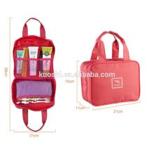 sac en plastique de toile en gros pour le maquillage
