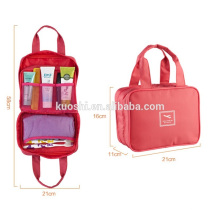 wholesale canvas cosmetic bag for makeup