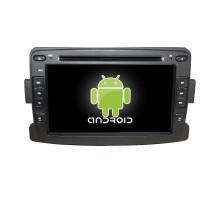 7inch android deux din lecteur DVD de voiture pour renault duster / logan / sandero Avec lien miroir / TV / AM / FM / Bluetooth / USB / carte SD / GPS