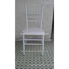 Novo design casamento branco preço barato cadeira tiffany XA3269