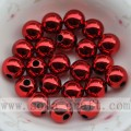 Beautiful colors jewelry electroplate bead for decoration