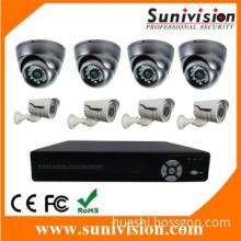 2014 Hot CCTV System! 8pcs Cameras  with 8CH  DVR CCTV Kit