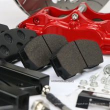 Red Refit big brake kit for bmw e46 17rim wheels WT5200 racing caliper brakes CP5200 Family - 152mm Mounting Centres - 16.8mm thick pad