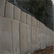 Spiral spring wire hesco barriers