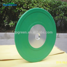 colored crossfit rubber coated Barbell weight plate