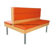 Morden Orange Duble Sofa Zweisitzer