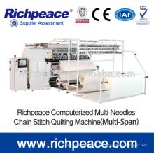 Блокировка стежка Высокоскоростная многошпиндельная швейная машина
