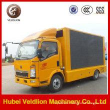 Camion mobile d'étape de LED polychrome extérieure de Sino à vendre