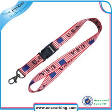 Full Color Printed Sublimation Polyester Lanyards
