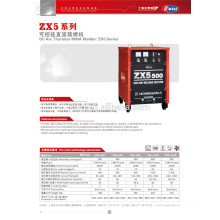ZX5 soldador de tiristor de arco DC 500amp