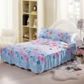 Impressos equipadas cama saia King/queen Size