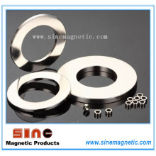 China Permanent Neodym (NdFeB) Ring Magnet