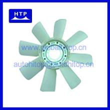 Hoja de ventilador de refrigeración del radiador japonés para motor MITSUBISHI 8DC90 8DC91A para FUSO F320 FV415 31248-39100 8Blades 9Holes