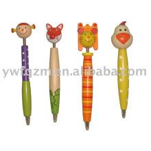 Papelería bolígrafo de madera