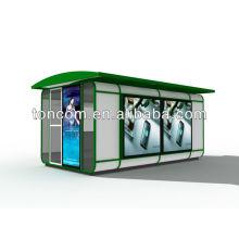 BKH-1B muebles de jardín para quiosco al por menor personalizado