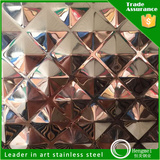 3d stamp 304 stainless steel weight islamic gold color sheet