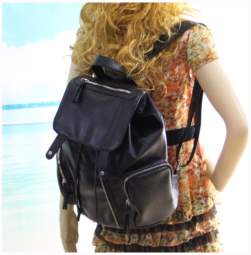 Stylish Women Pu Leather Backpack
