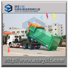 15 M3 Tipping Bucket Type Garbage Truck Compactor Station