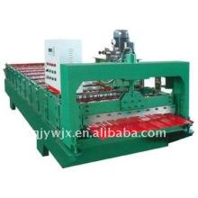 8-13-910 máquina de prensagem de canto de telha de telhado
