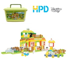 Colorful Building Blocks Toy Bricks with Bucket