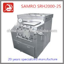 SRH2000-25 25Mpa homogeneizador de presión del proveedor chino