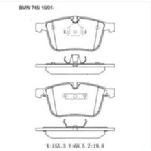 D918 Тормозные колодки для BMW 1 купе (E82) Тормозные колодки GDB1498 571990B