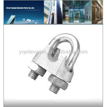 Sujetadores para cables de elevador, sujetadores para elevadores