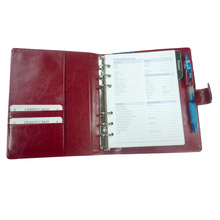 A6 File Folder Notebook Fall, Planer Portfolio