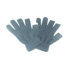 Moda impresa de acrílico tejidos de pantalla táctil invierno Magic guantes