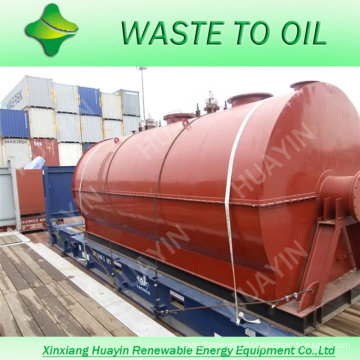 Small Used Waste Engine Oil Refinery Machine To Crude Oil Factory