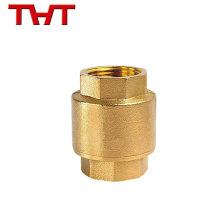 """1/2 """"-2"""" material de cobre amarillo de la oblea que levanta la válvula de cheque de cobre para las ventas al por mayor"""