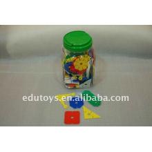 Brinquedos de aprendizagem de plástico grande flor