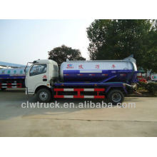 2015 Dongfeng 4x2 sewage suction trucks,6cbm vacuum cleaner truck