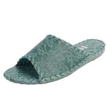 Vêtements de femmes chaussons dentelle Pansy supérieure pantoufles d'intérieur chambre confortable