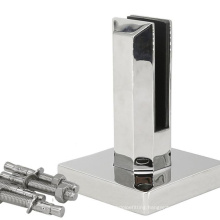 Handrail U Shaped Stainless steel Glass Clamp Swimming poor glass holder 316