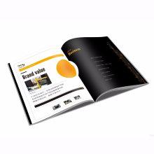 Impression de magazine adaptée aux besoins du client polychrome d'OEM Softcover