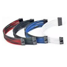 Sleeved 24pin ATX Female to Male Power Extension Cable