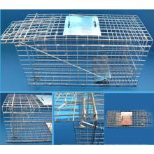 Humane Tierfalle für Possum Feral Cat Kaninchen Hase Cage