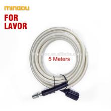 Promotion 2018 précipité Gs haute pression laveuse sortie tuyau 5meter blanc lavage la voiture connecter Lavor avec pistolet (cw010)
