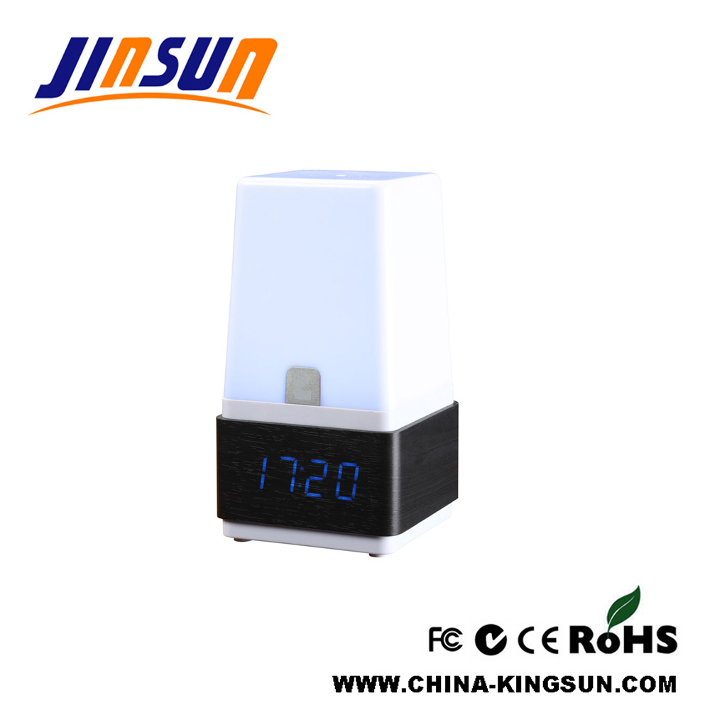 Table Lamp With Led Clock