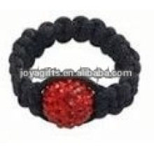 women shamballa ring