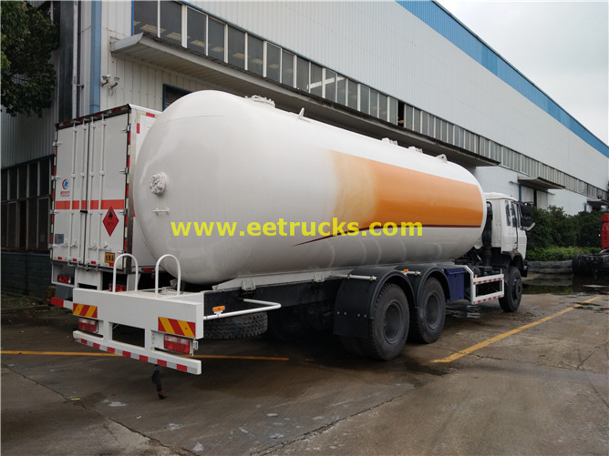 25000 liters DFAC LPG Tanker Trucks