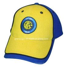 Bonnet de sport en coton brossé pour le club de football italien