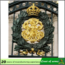 Custom Design Gold Metal Emblem for Outdoor
