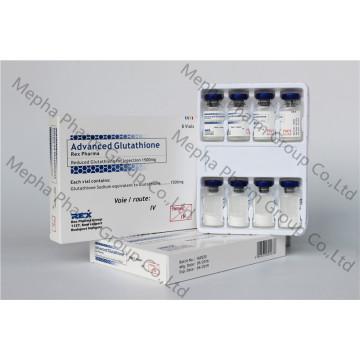 Inyección de Glutatión 1500mg + Inyección de Vitamina C + Cindelle