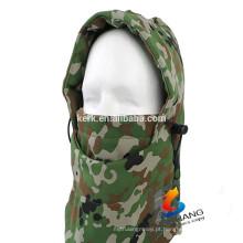 Tipo de máscara de esporte respirável chapéu de inverno dupla camada tampas velo balaclava