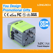 LongRich multipurpose travel adapter usb power plug wholesale alibaba from China