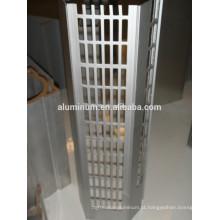 Perfis industriais de alumínio