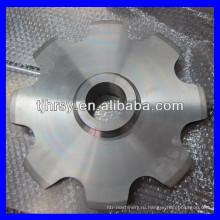 Нержавеющая сталь большая цепь транспортера Тангажа цепное колесо