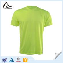 Ropa de funcionamiento seca del OEM del hombre de la camiseta